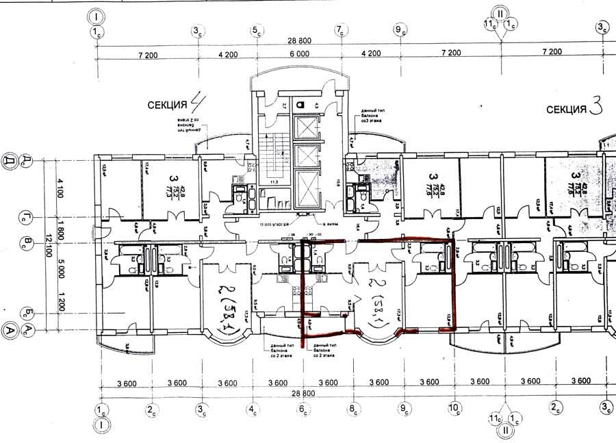 Серия и-155- планировка квартир. всё о серии..